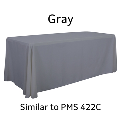 6ft 4-sided Blank Table Throw