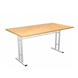 Portable Trade Show 5ft Rectangle Conference Table