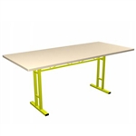Portable Trade Show 6ft Rectangle Conference Table