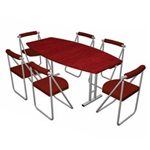Pack Stuff Conference Kit 5 Portable Table & Chairs