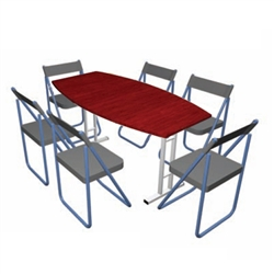 Pack Stuff Conference Kit 6 Portable Table & Chairs
