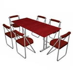 Pack Stuff Conference Kit 7 Portable Table & Chairs