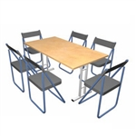 Pack Stuff Conference Kit 8 Portable Table & Chairs