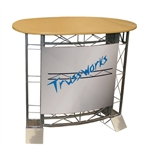 Large Oval EZ6 Trade Show Truss Counter