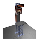 Latrobe EZ6 Workstation Trade Show Truss Kiosk