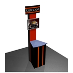 Norton EZ6 Workstation Trade Show Truss Kiosk