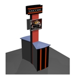 Norton DS EZ6 Trade Show Truss Kiosk