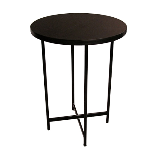 Charming Portable Trade Show Bar Height Table