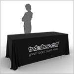 Exhibition Stand Tablecloths : Trade show table covers tradeshow stuff