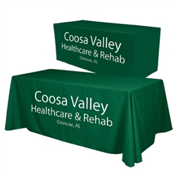 Convertible Trade Show Table Cover: Classic Imprint with Typesetting