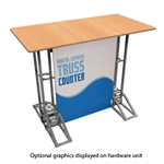 Rectangle Truss Counter Graphic Package