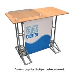 Rectangle Truss Counter Graphic