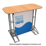 Racetrack Top Truss Counter Graphic Package