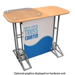 Racetrack Top Truss Counter Graphic