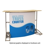 Curve Truss Counter Graphic Package