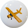 Yellow Airplane Knob