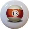Billiards 13 Ball Knob