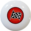Red Checkered Flag Knob