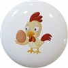 Chicken with Egg Knob