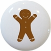 Gingerbread Man Knob