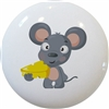 Mouse with Cheese Knob