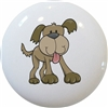 Cute Brown Dog Knob