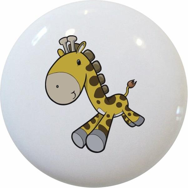 Baby Giraffe Running Knob