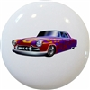 Purple Hot Rod Car Knob
