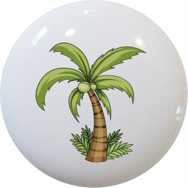 Palm Tree With Grass Knob
