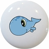 Baby Whale with Big Eyes Knob