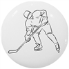 Sports Icon Hockey Knob