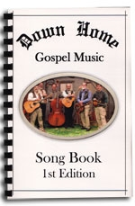Down Home Gospel Music - Song Book (Leaf-Book)