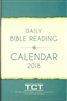 2018 Daily Bible Reading Calendar