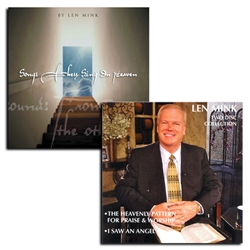 Songs They Sing in Heaven/ Len Mink : Two Disk Teaching Set Combo Pack - Len Mink (CD)