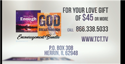 More Than Enough / God of Breakthrough - Encouragement Bundle Len and Cathy Mink