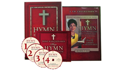 Hymn Restoration & Hymn Restoration Hymn Collection (4 CD's) as well as Hymn Restoration Devotionals Audio Book