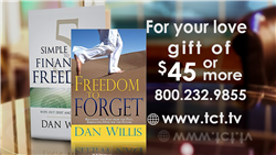 """Freedom to Forget"" & ""5 Simple steps to Financial Freedom"