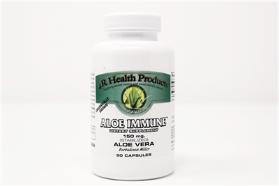 Aloe Immune green label