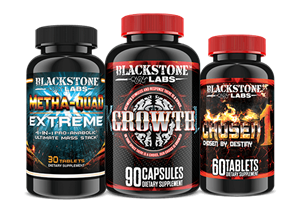Blackstone Labs Men's Hardcore Muscle Building Stack