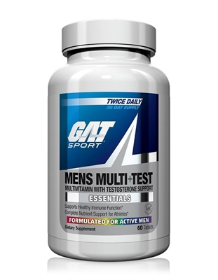 Gat Mens Multi + Test 60 Capsules