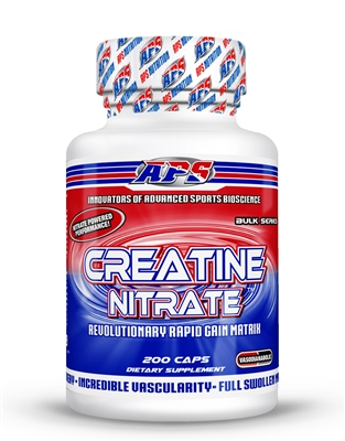 APS Nutrition Creatine Nitrate 200 Capsules