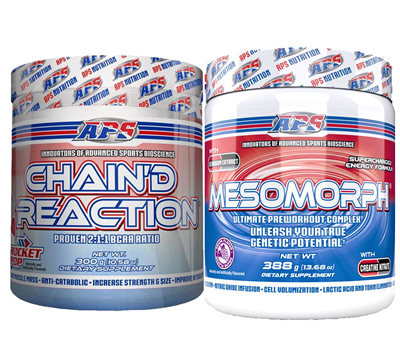 APS Mesomorph Chain'd Reaction Stack