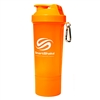 Smart Shaker Slim Shaker Cup 17 Oz Neon Orange