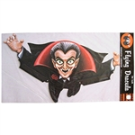 Flying Dracula Cutout