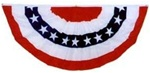 Patriotic Cotton Bunting