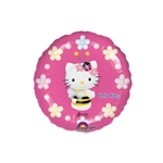 9 inch Hello Kitty Bee Balloons Round