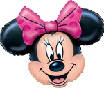 27 inch Disney Minnie Mouse Head Foil Balloon