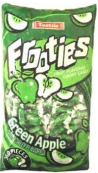 38.8 ounce Tootsie Roll Candy Frooties GREEN APPLE