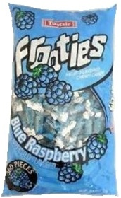 38.8 ounce Tootsie Roll Candy Frooties BLUE RASPBERRY