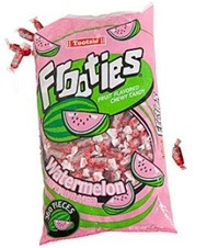38.8 ounce Tootsie Roll Candy Frooties WATERMELON